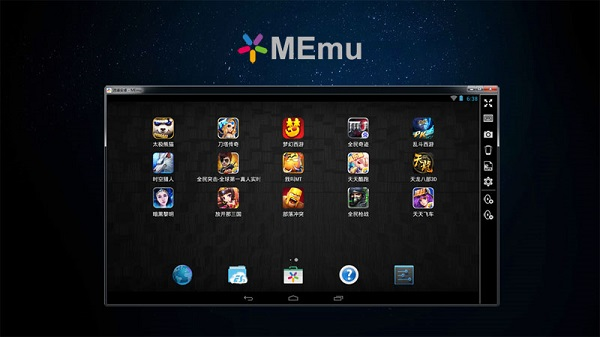 memu emulation android ordinateur